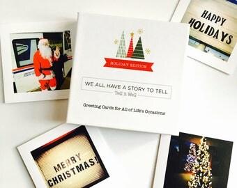 Holiday/Christmas Cards- Box Set of 8