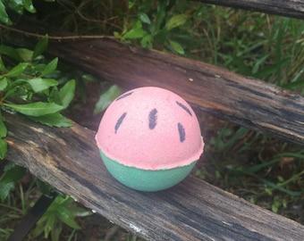 Sweet NOLA Summer Watermelon Bath Bomb