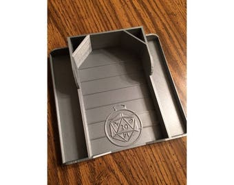 D&D Dice Tray and Storage Container