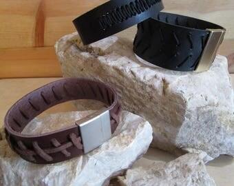 Unisex Leather Band Bracelet