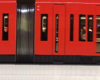 Sornainen Metro Station Helsinki 04122016   Original Panoramic Photography - Limited Edition