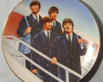 "The Beatles Collection ""Hello America"" Collector's Plate - NIB"
