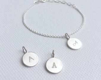 Bracelet initials (material: Silver)
