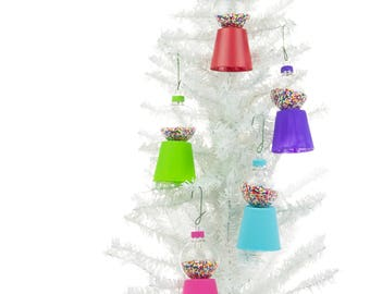 gumball machine ornaments