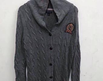 20% Off Tommy Hilfiger knit Sweater Hilfiger jacket Women Sweater Women Sweatshirt Tommy Hilfiger Women sz M
