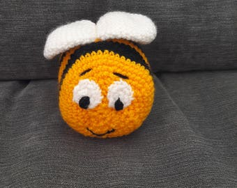 Crocheted Busy Bee