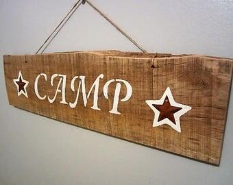 Pallet Camp Sign,Camp Sign,Camper Sign,Camping Signs,Camp Site Sign,Wooden Camping Signs,Wooden Camper Signs,Camping Wood Signs,Pallet,Camp
