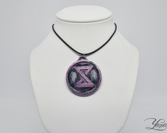 The Witcher inspired medallion - Yrden sign | The Witcher cosplay | The Witcher Medallion | The Witcher Pendant