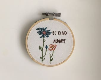kindness wins hoop