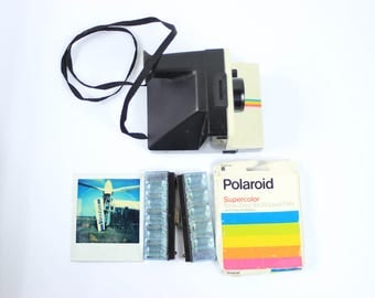 Polaroid Land Camera With Flash