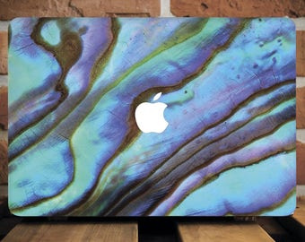 Abalone Shell Hard Case for Apple Mac Air MacBook Pro Retina Cover Hard Plastic Cover MacBook Pro 15 Hard Case MacBook Air Book Case WCm180