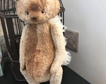 Teddy bear Leo ooak bear
