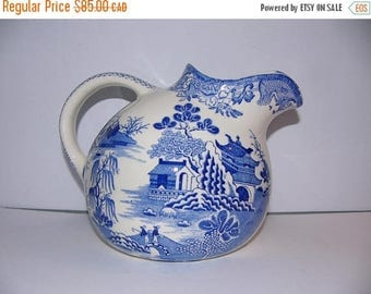 ON SALE Vintage Masons Pitcher