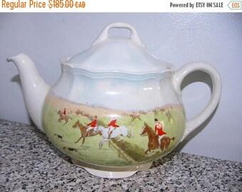 ON SALE Vintage Royal Doulton 'Over the Grass' Teapot