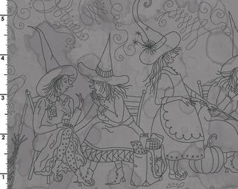 maywood studio fabric salem quilt show etched halloween scenes mas8358k sold by