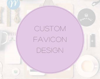 Custom Favicon Design - Matching Favicon for your Website
