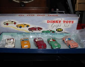 What better way to OPEN The DinkyStore.com than to add a mint Dinky Gift Set # 149