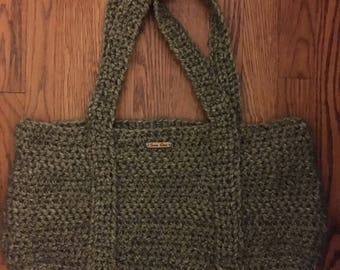 Boho Beach crochet bag!