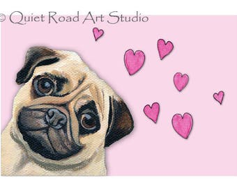 valentines day card cute valentines day card pug valentines day card clean valentines
