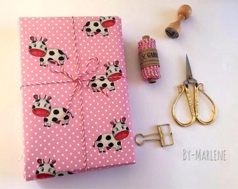 Gift Paper Cow