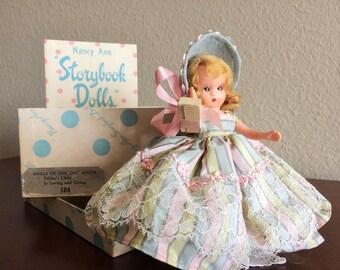 "Nancy Ann Storybook Doll #184 ""Friday's Child"""