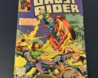 Ghost Rider #47 1980 Bronze Age Marvel Comics