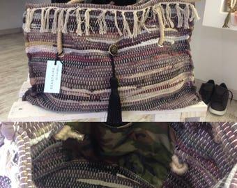 boho bags ,κουρελού , loom bag,