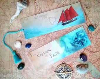 The Girl From Everywhere Bookmark - Handmade