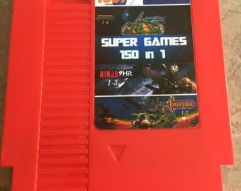 Super Games 150 in 1 wrinkled label special
