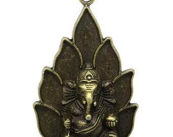 """""""Ganesh"""" 5.3 cm Bronze pendant / zen"""