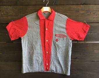 Vintage 60's Bowling Shirt