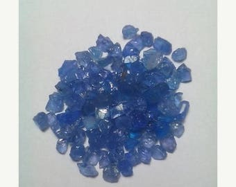 80% OFF SALE 10 Pieces High Quality Natural Tanzanite Rough