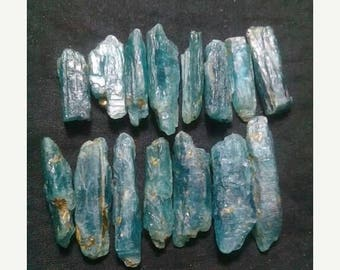 80% OFF SALE 10 Pieces Natural Kyanite Rough Pencil