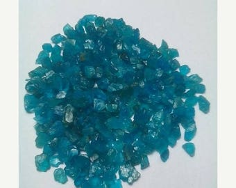 80% OFF SALE 20 Pieces Blue Apatite Rough
