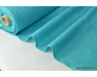 fabric faux turquoise dark tablecloth and decoration. x 1 m