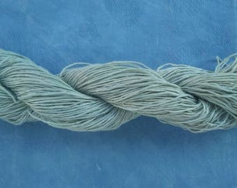 Hand-dyed hemp with natural colors (Indigo)