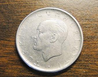 1960 Turkey 1 One Lira  #518