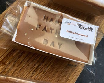 SALE Happy Father's Day Salted Caramel Fudge Loaf 170g-210g