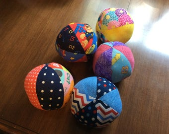 Cotton Fabric Balls for Baby