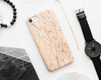 Scratched Wood Style iPhone Case - iPhone 7 Case, iPhone 7 Plus Case, iPhone 6 Case, iPhone 6s Case, iPhone 6 Plus Case, iPhone 6s Plus Case