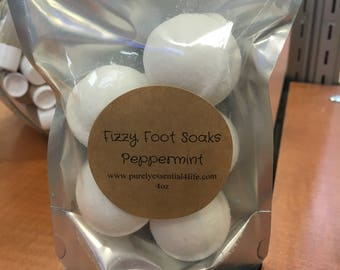 Mini Bath bombs (foot fizzies) 5pk
