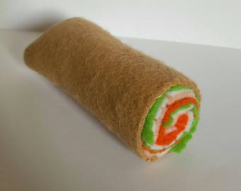 Spring Roll Cat Toy