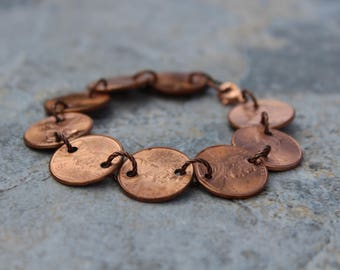 Bold Penny For Your Thoughts Bracelet