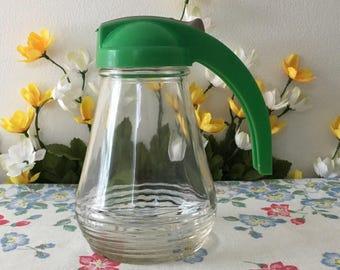 1950's Syrup Dispenser Bottle