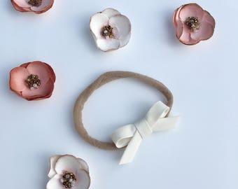 baby bow headband | toddler bow headband