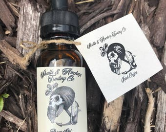 Irish Coffee ( Sandalwood Bourbon, coffee ) Handmade Beard Oil