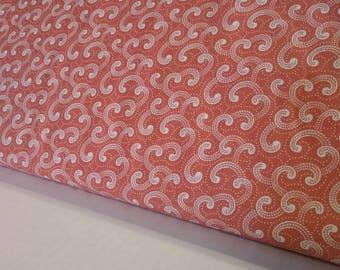 Pink Scroll - Moda Fabric