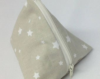 Star pacifier pouch