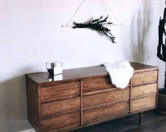 Eucalyptus wooden dowel hanging