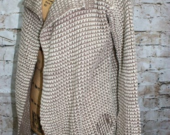 Monogrammed Open Front Cardigan Sweater - All Season